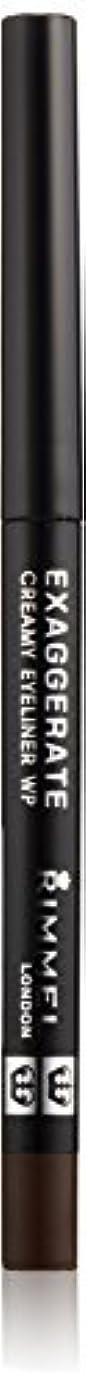 制限された許可するシンジケートリンメル エグザジェレート クリーミィ アイライナー WP 002 ブラウン