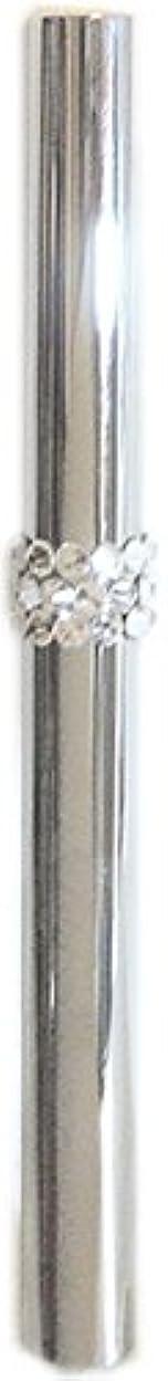 レンディション金属前兆アトマイザー ロールオン 香水 詰め替え 『C-line』 スティックアトマイザー (シルバー ? メタル) / スワロフスキー クリスタル/携帯性?遮光性?保香性