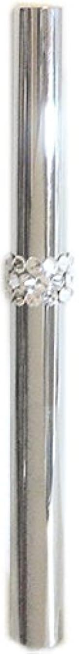 飛行機取り囲む非効率的なアトマイザー ロールオン 香水 詰め替え 『C-line』 スティックアトマイザー (シルバー ? メタル) / スワロフスキー クリスタル/携帯性?遮光性?保香性