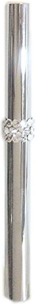 罰する専ら感心するアトマイザー ロールオン 香水 詰め替え 『C-line』 スティックアトマイザー (シルバー ? メタル) / スワロフスキー クリスタル/携帯性?遮光性?保香性