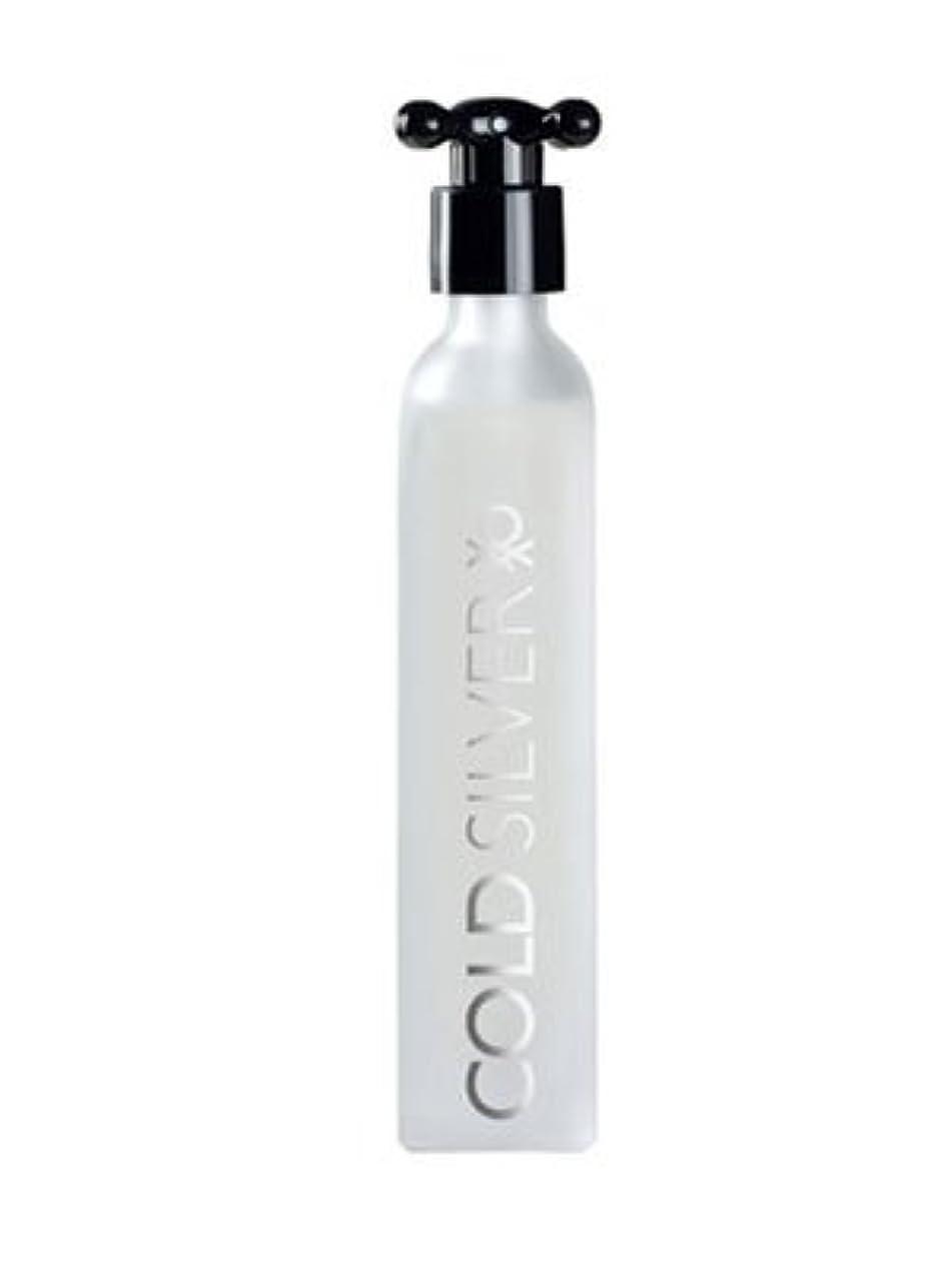 スノーケル懐編集者Cold Silver (コールド シルバー) 3.3 oz (100ml) EDT Spray by Benetton for Men