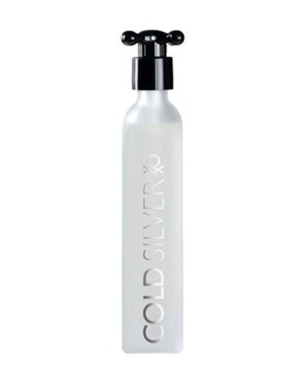 中傷サージ何かCold Silver (コールド シルバー) 3.3 oz (100ml) EDT Spray by Benetton for Men