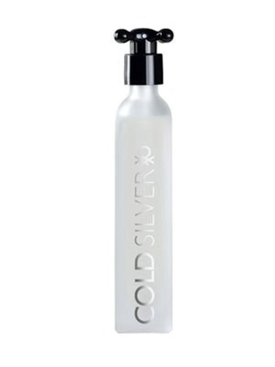 着服目を覚ますラベンダーCold Silver (コールド シルバー) 3.3 oz (100ml) EDT Spray by Benetton for Men
