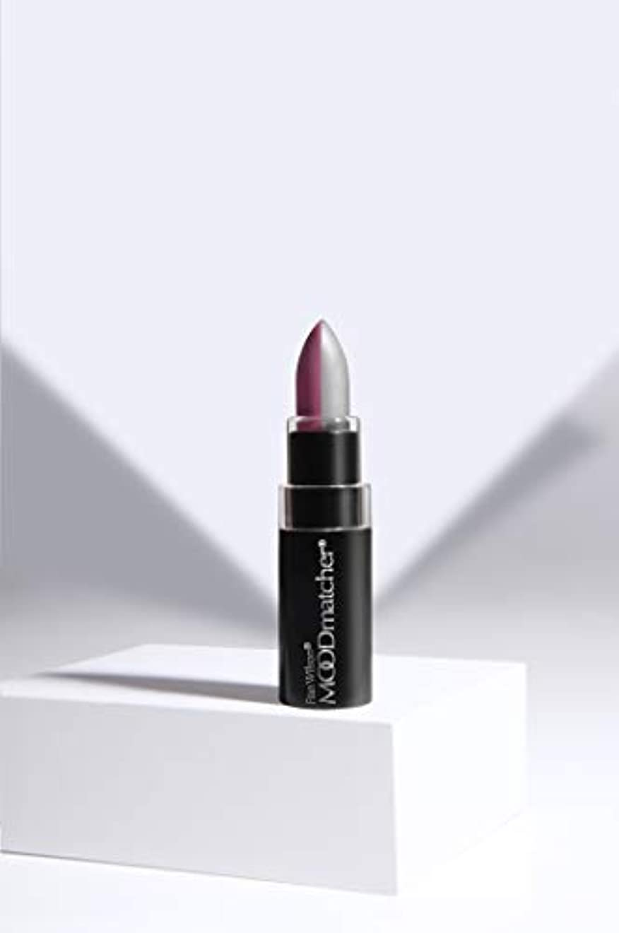 しつけ裁判官デコレーションFran Wilson MOODMATCHER Split Stick Lip Color Purple/Silver (並行輸入品)