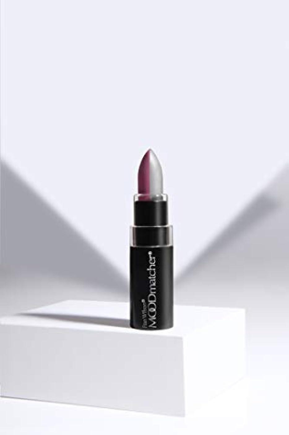 航空機プレビュー甘味Fran Wilson MOODMATCHER Split Stick Lip Color Purple/Silver (並行輸入品)