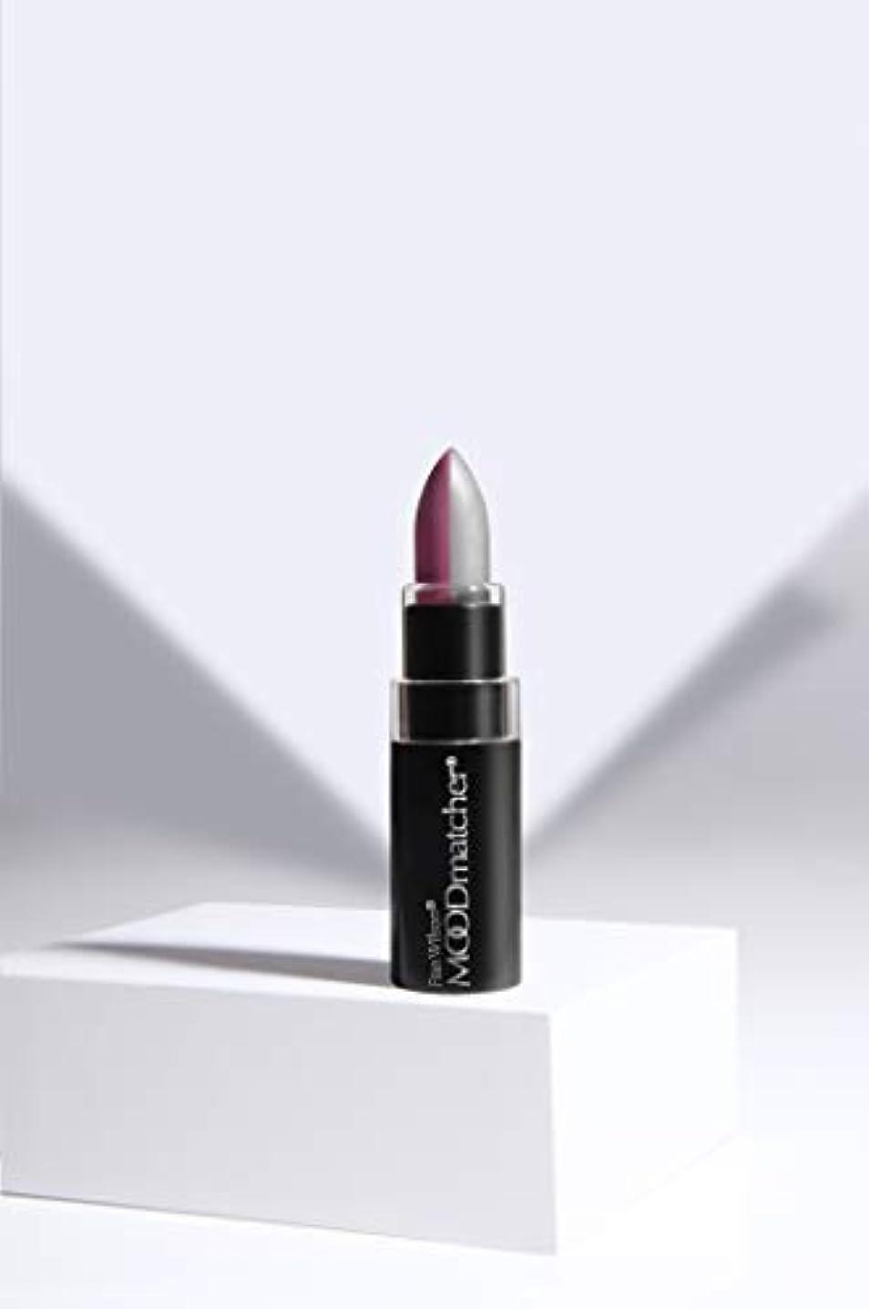 長々とスキニー敬の念Fran Wilson MOODMATCHER Split Stick Lip Color Purple/Silver (並行輸入品)