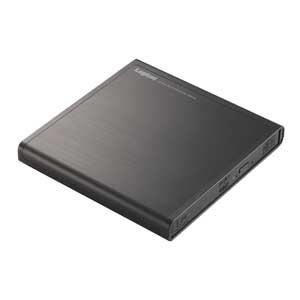 ロジテック(エレコム) DVDドライブ/USB2.0/ブラック LDR-PMJ8U2LBK
