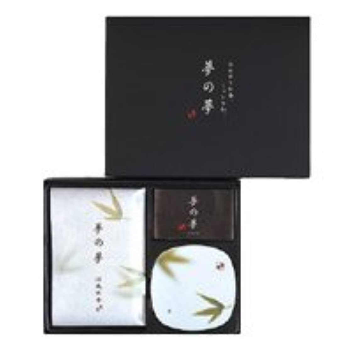 オフ貼り直す添付日本香堂 夢の夢 涼風の香(すずかぜ) お香 ギフト