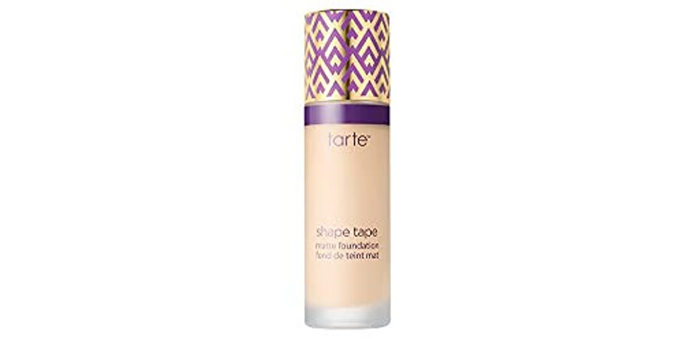 手がかり反発するオアシスTARTE shape tape matte foundation (12S Fair Sand)