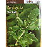5パック購入:NEW 19分の2018バーピーORGANICルッコラレタスの種子巨大な貯蓄25から50パーセントを!!!