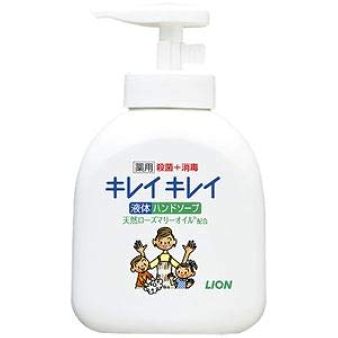 盲目気性日没(まとめ) ライオン キレイキレイ 薬用ハンドソープ 本体【×10セット】