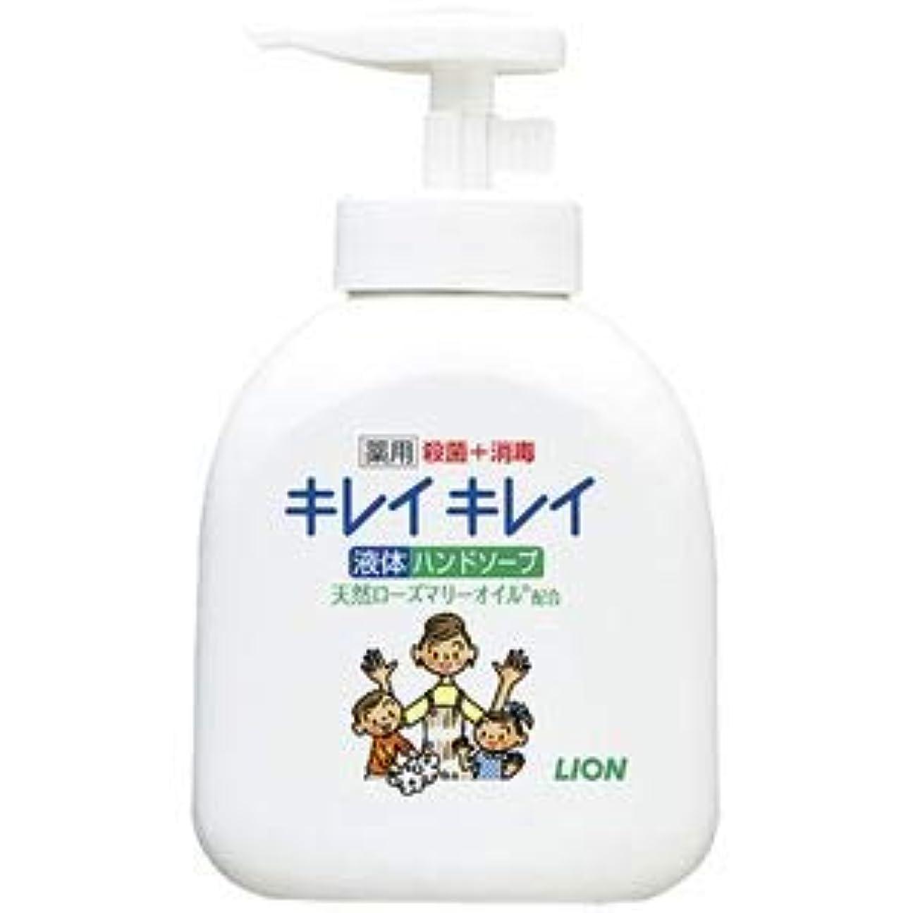(まとめ) ライオン キレイキレイ 薬用ハンドソープ 本体【×10セット】