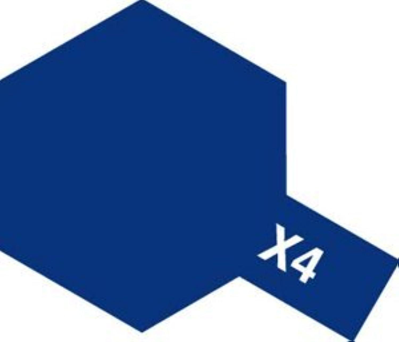 タミヤカラー エナメル塗料 X4 ブルー