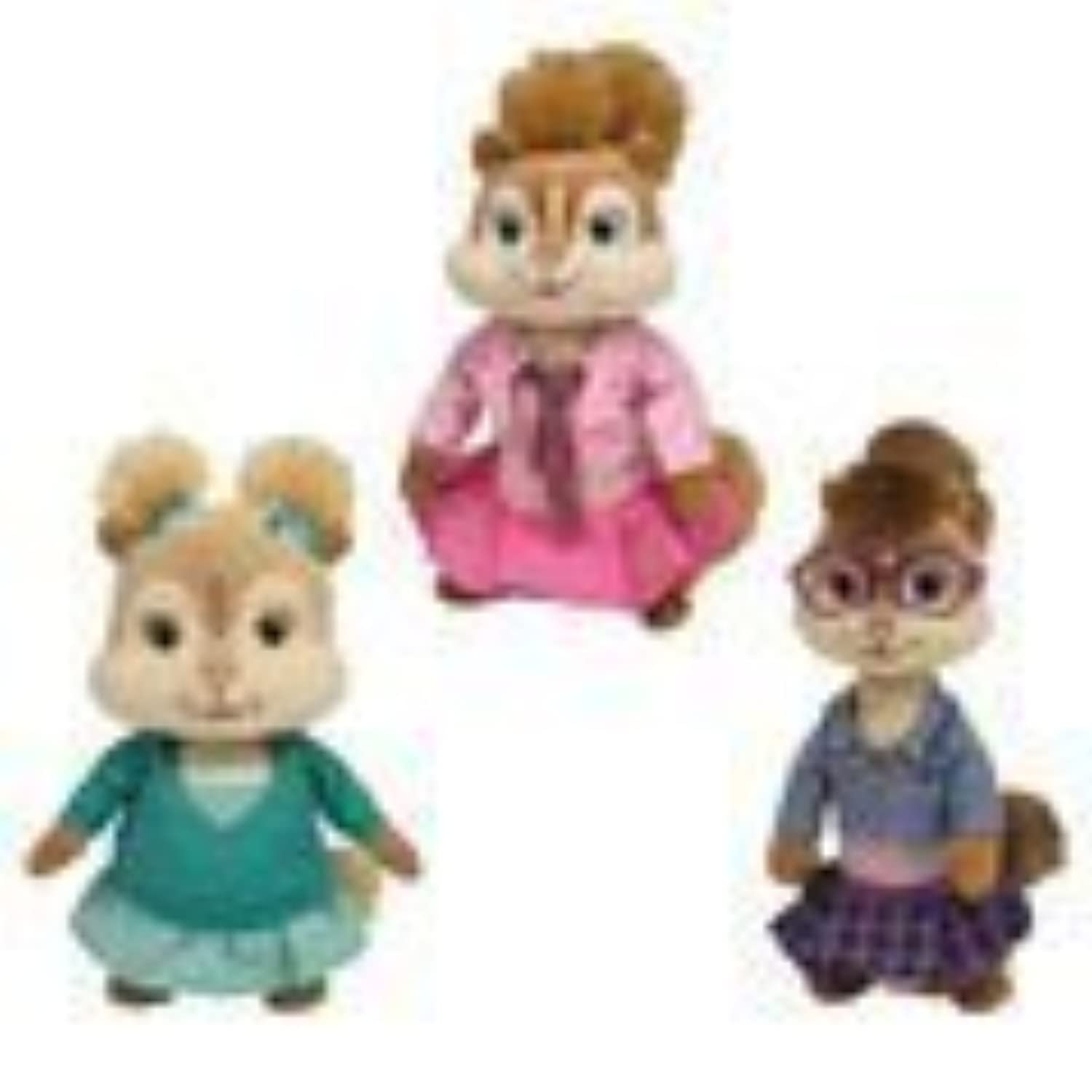 TY Beanie Babies (ビーニーベイビーズ) - Brittany, Eleanor & Jeanette ( Set of 3 Chipettes )by Ty TOY ドール 人形 フィギュア(並行輸入)