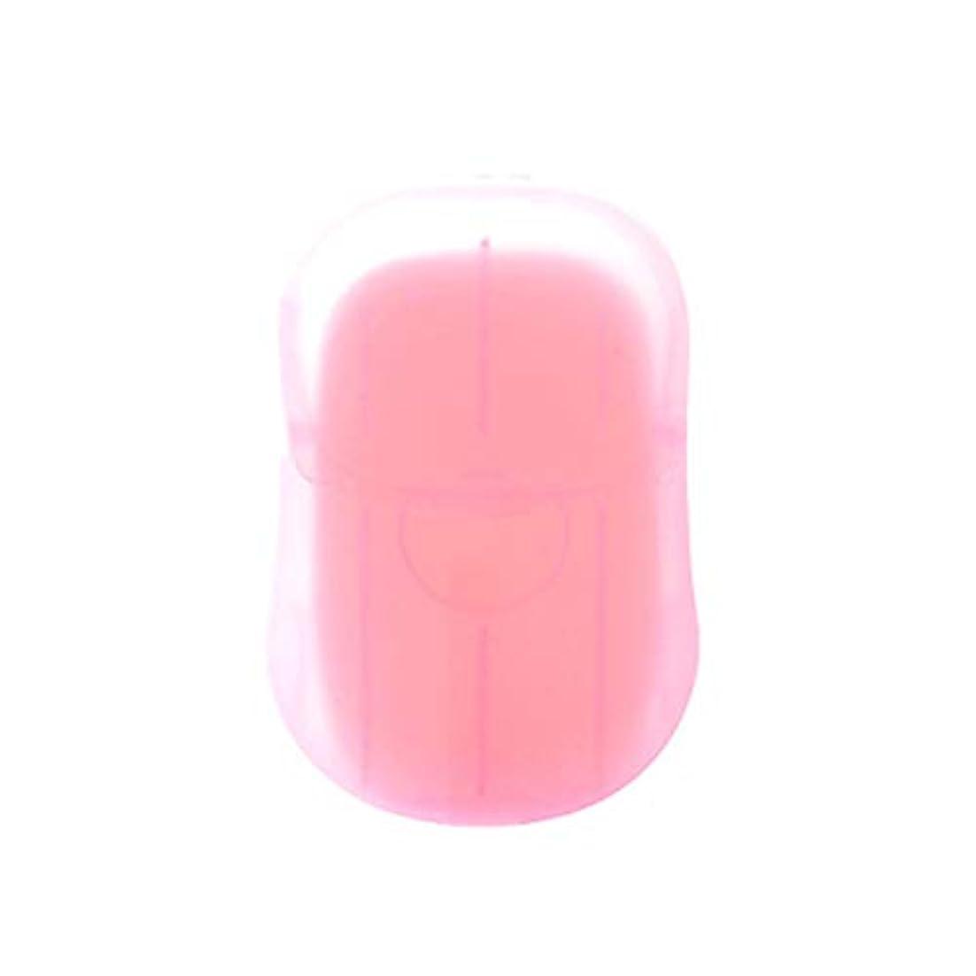 予測する識別有効化Galapara 紙石鹸 使い捨て石鹸ケース 20枚石鹸ペーパー香料入り 旅行用品