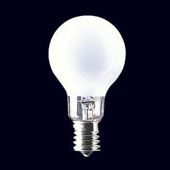 ミニクリプトン電球 100W形 ホワイト 口金E17 LDS100/110V90WWK-5SET