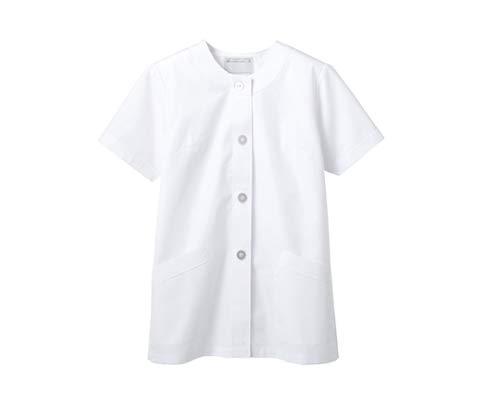 住商モンブラン MONTBLANC(モンブラン) 調理衣 レディス 半袖 白 5L 1-032