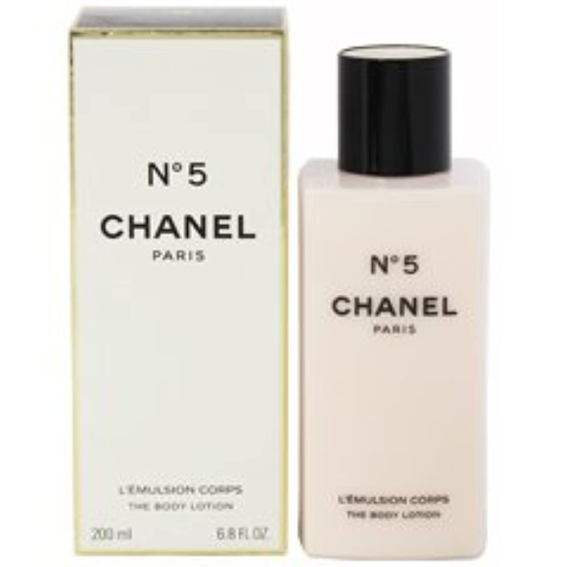 無臭シルクおっとChanel No. 5 (シャネル No. 5 ) 6.8 oz (200ml) Body Lotion for Women