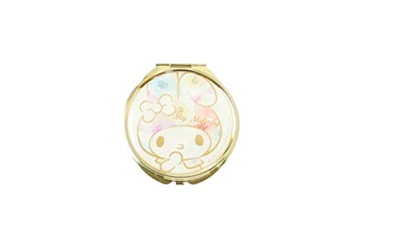 極地雷雨スケート(メイクメリー) Make Merry Sanrioコンパクトミラー 86887 (flowerマイメロ)