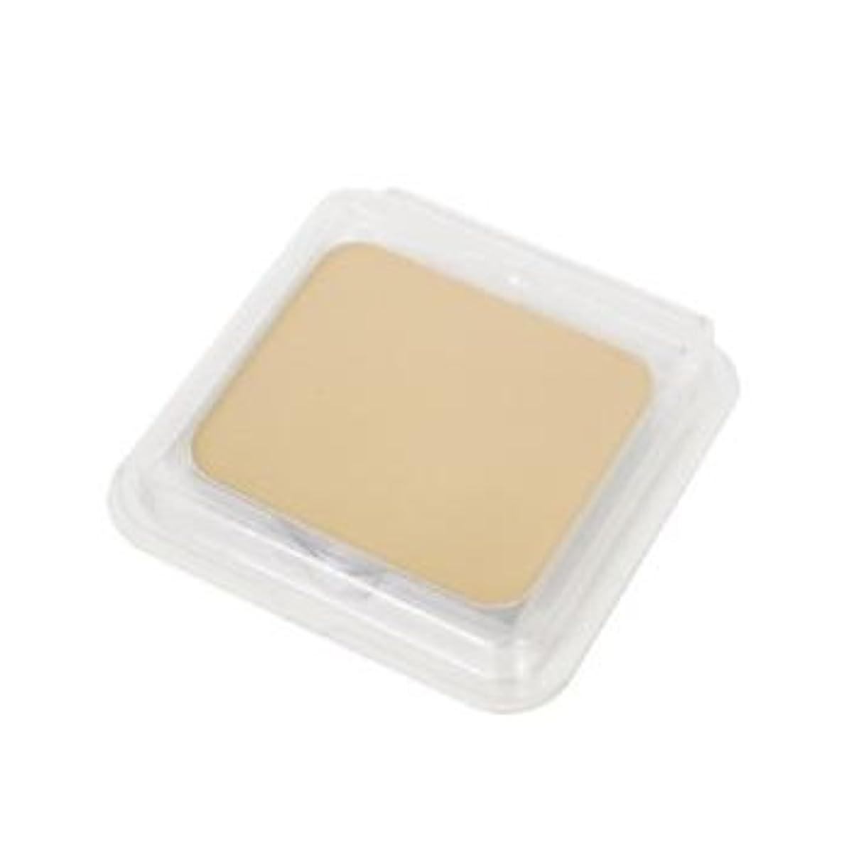 はちみつ石鹸赤面オリーブマノン パウダーファンデーションレフィル (スポンジ付) 2010 ライトオークル (12g)