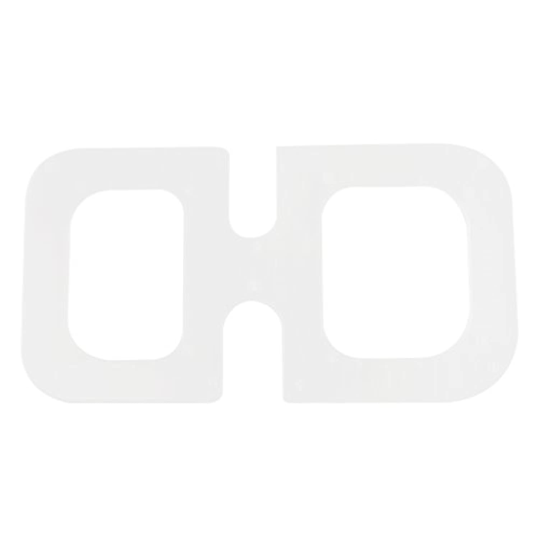SONONIA DIY レザー クラフト アクリル フィレット ラウンド モールド 金型 テンプレート ボード ゲージ