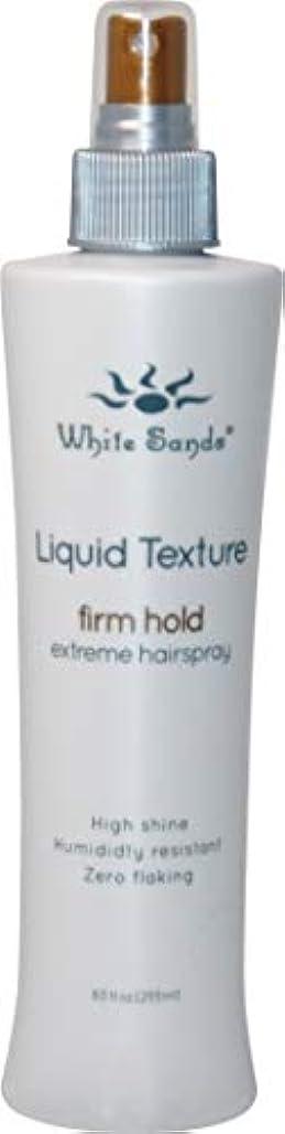 おなかがすいた抹消触覚White Sands 液体テクスチャ当社は、ホールド非エアゾール髪は、ブロー乾燥用の最大ボリューム8.5オンスと熱保護スタイリングスプレーと企業ホールドのスタイル 8.5オンス