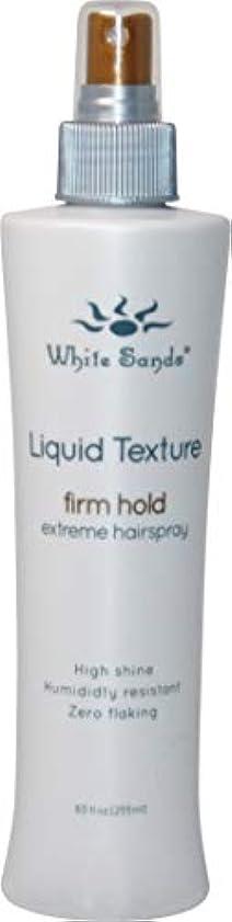 設計混乱子White Sands 液体テクスチャ当社は、ホールド非エアゾール髪は、ブロー乾燥用の最大ボリューム8.5オンスと熱保護スタイリングスプレーと企業ホールドのスタイル 8.5オンス