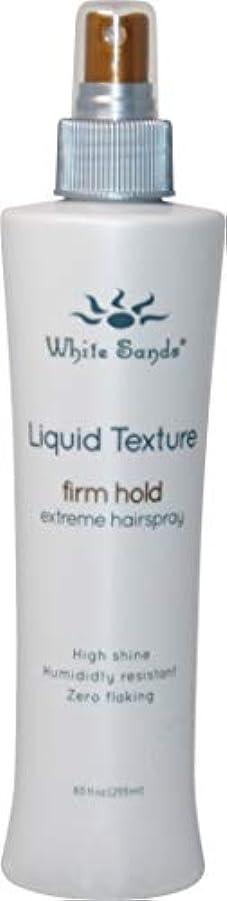 通信する日食泣いているWhite Sands 液体テクスチャ当社は、ホールド非エアゾール髪は、ブロー乾燥用の最大ボリューム8.5オンスと熱保護スタイリングスプレーと企業ホールドのスタイル 8.5オンス