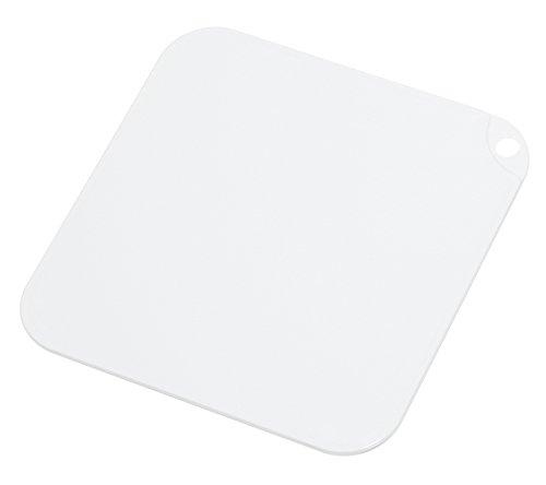 トンボ スウィーツパレット まな板 S バニラ 21×21cm