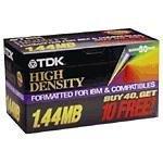 TDK 3.5インチフロッピーディスク50Preformatted for PC