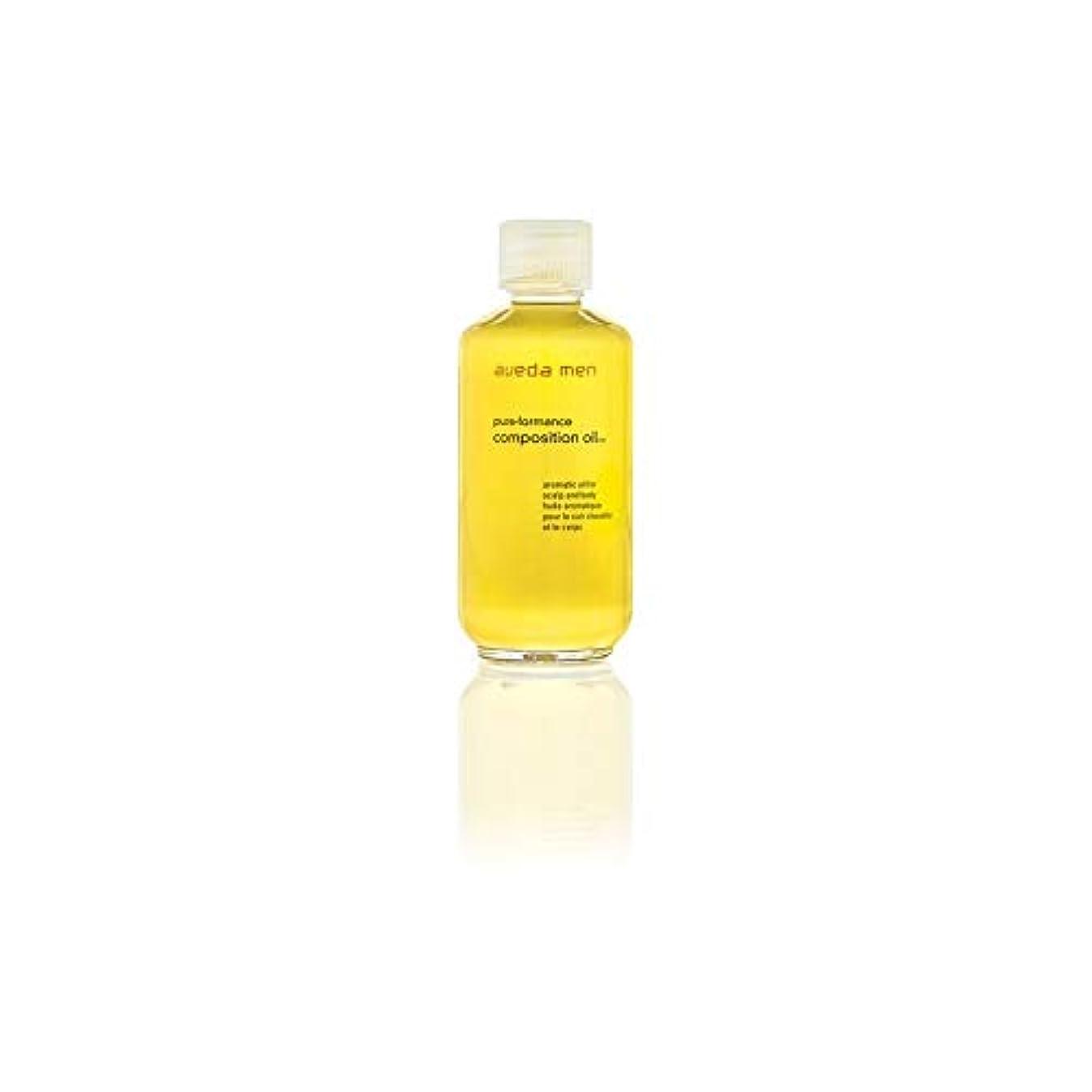 より多い会話性能[AVEDA ] アヴェダメンズ組成オイル(50ミリリットル) - Aveda Men's Composition Oil (50ml) [並行輸入品]