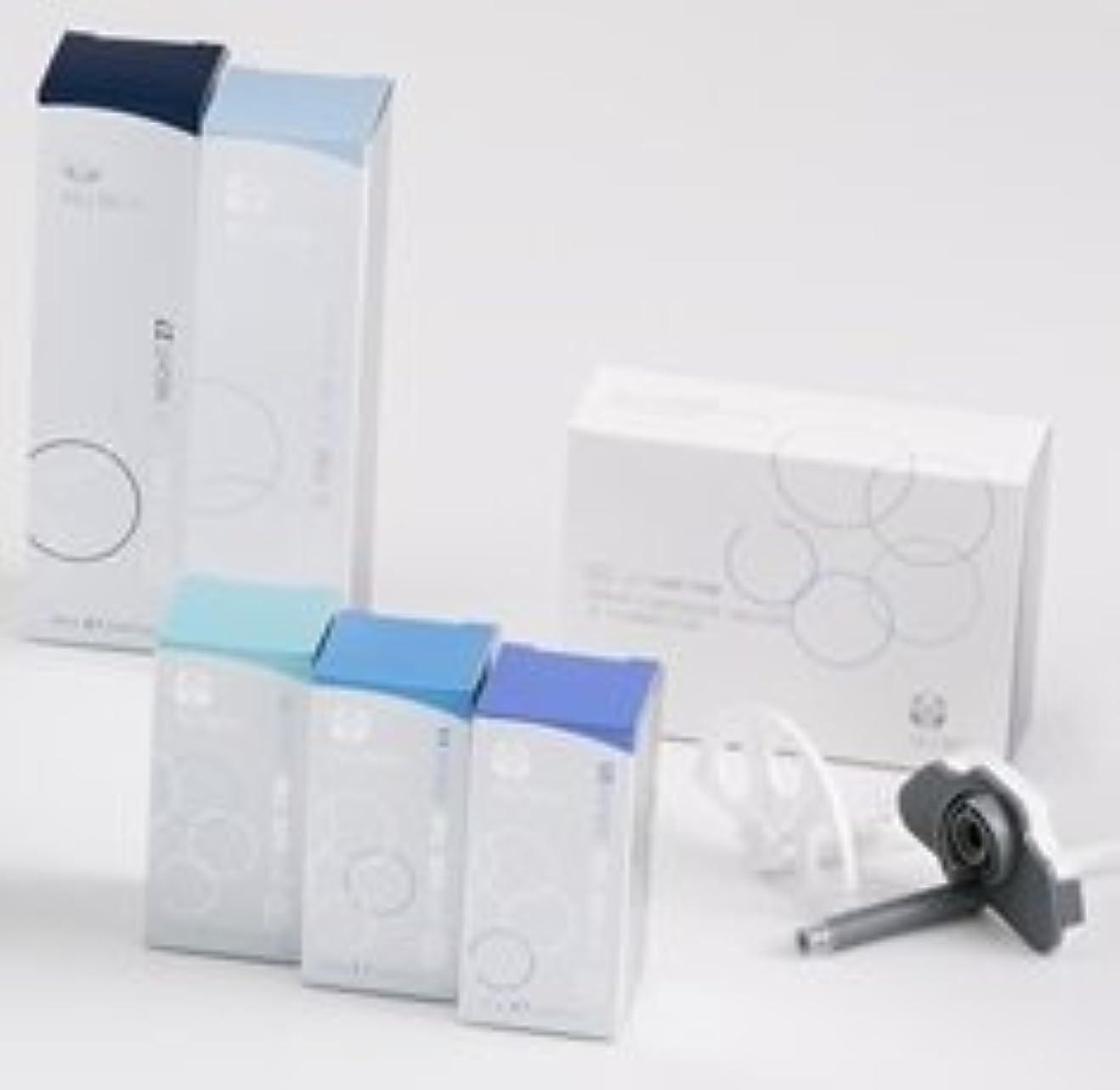モールス信号企業応援するニュースキン genLOC Me マイ カートリッジ セット ( セラム 美容液 モイスチャライザー 乳液 ホルダー コネクター)