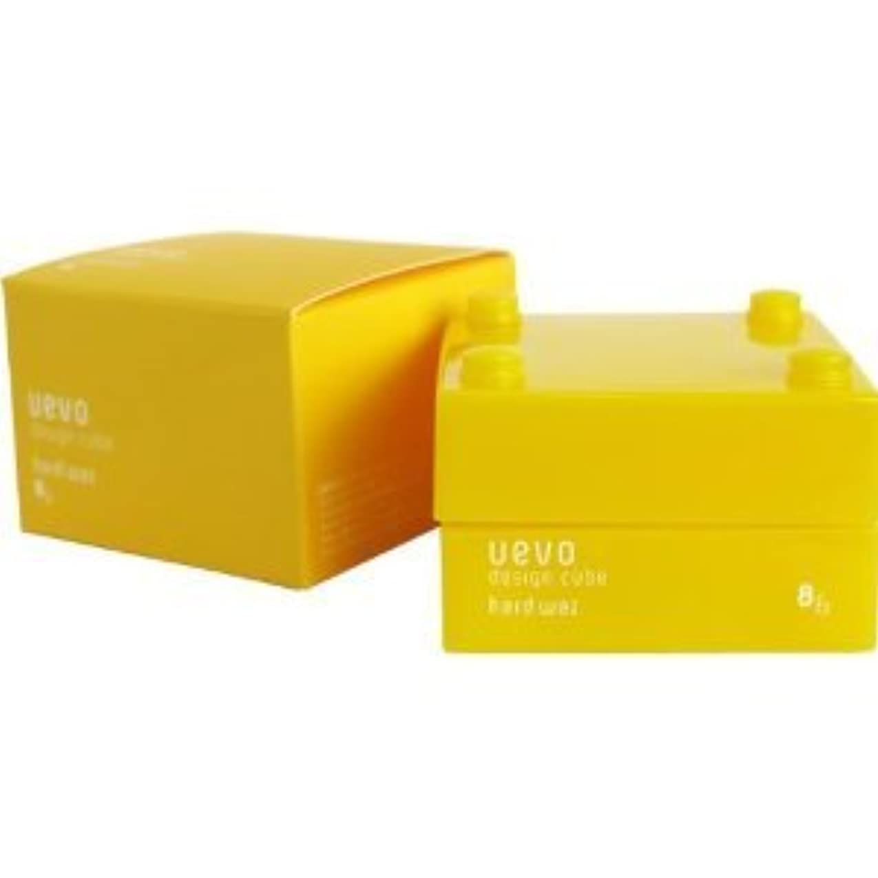 トレーニングロボット隣接する【X3個セット】 デミ ウェーボ デザインキューブ ハードワックス 30g hard wax DEMI uevo design cube
