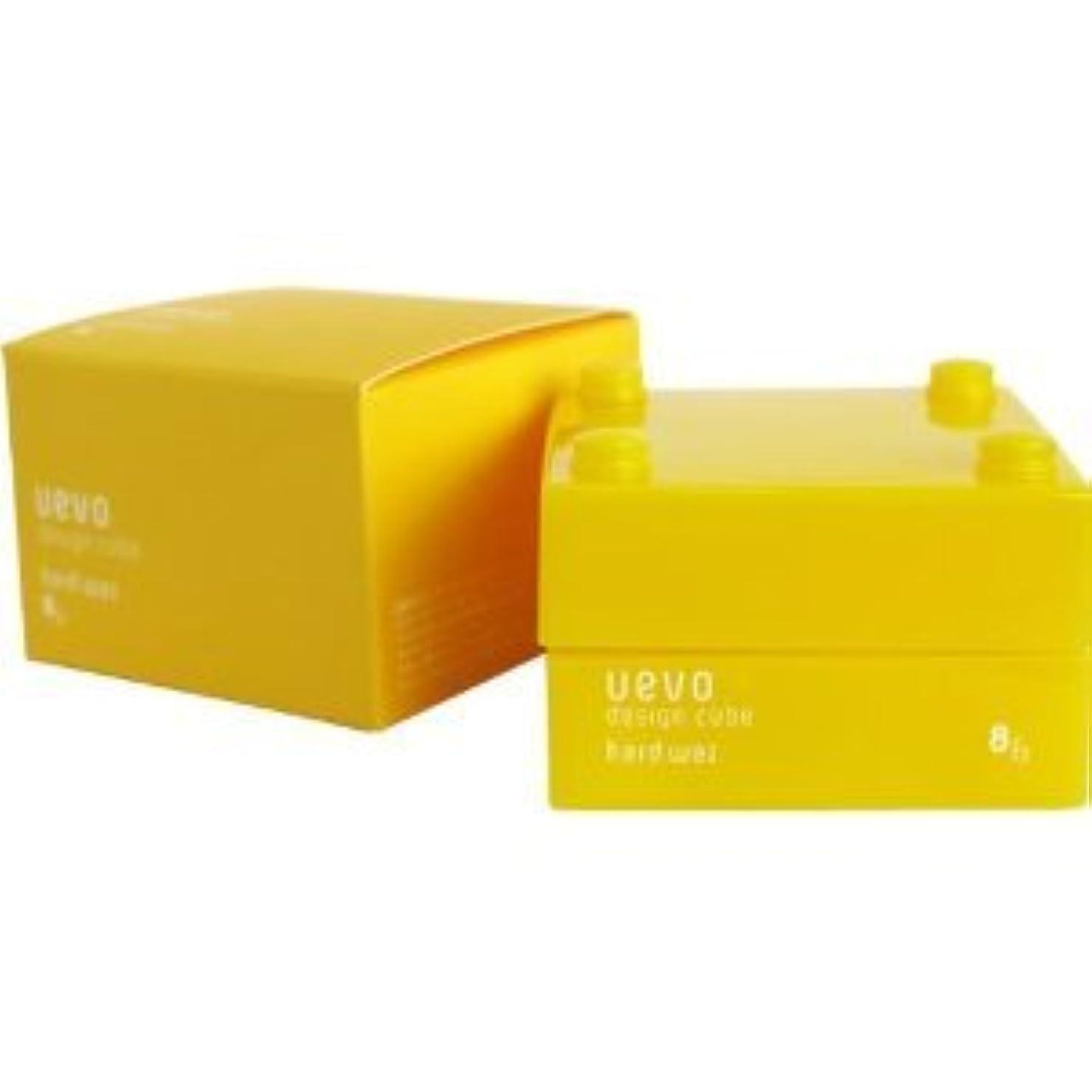 しばしばブラシ脆い【X2個セット】 デミ ウェーボ デザインキューブ ハードワックス 30g hard wax DEMI uevo design cube