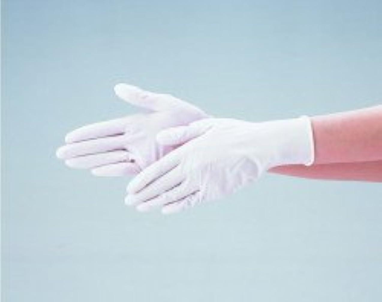 フライト店主モードエブノ ニトリル手袋 No.525 L 白 (100枚入×20箱) ディスポニトリル パウダーフリー ホワイト