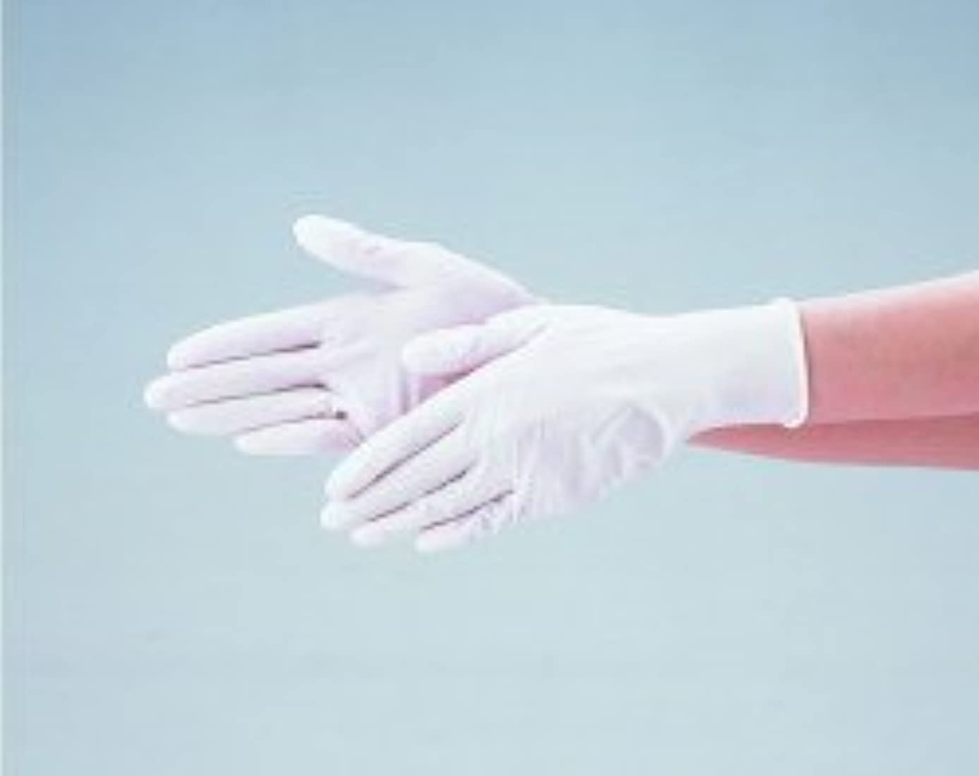 筋世界の窓幻滅するエブノ ニトリル手袋 No.525 M 白 (100枚入×20箱) ディスポニトリル パウダーフリー ホワイト