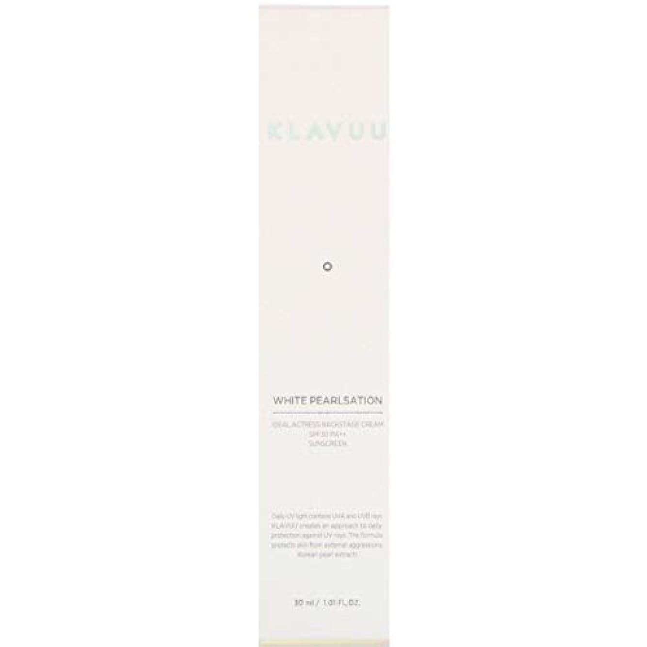 分子インクタービンクラビュー Klavuu ホワイトパールセ―ションバックステージクリーム 女優クリーム SPF30 PA++ 30g
