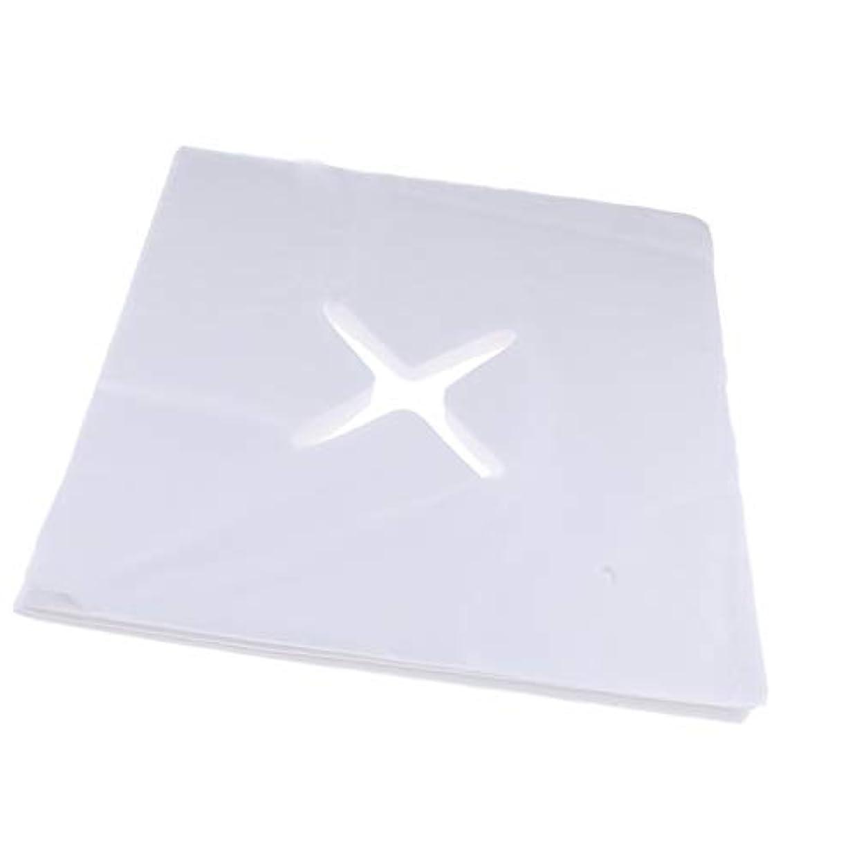 拮抗エンジニア詩人約200枚 ピローシート 十字カット 使い捨て フェイスカバー 不織布PP クッション S/M - L