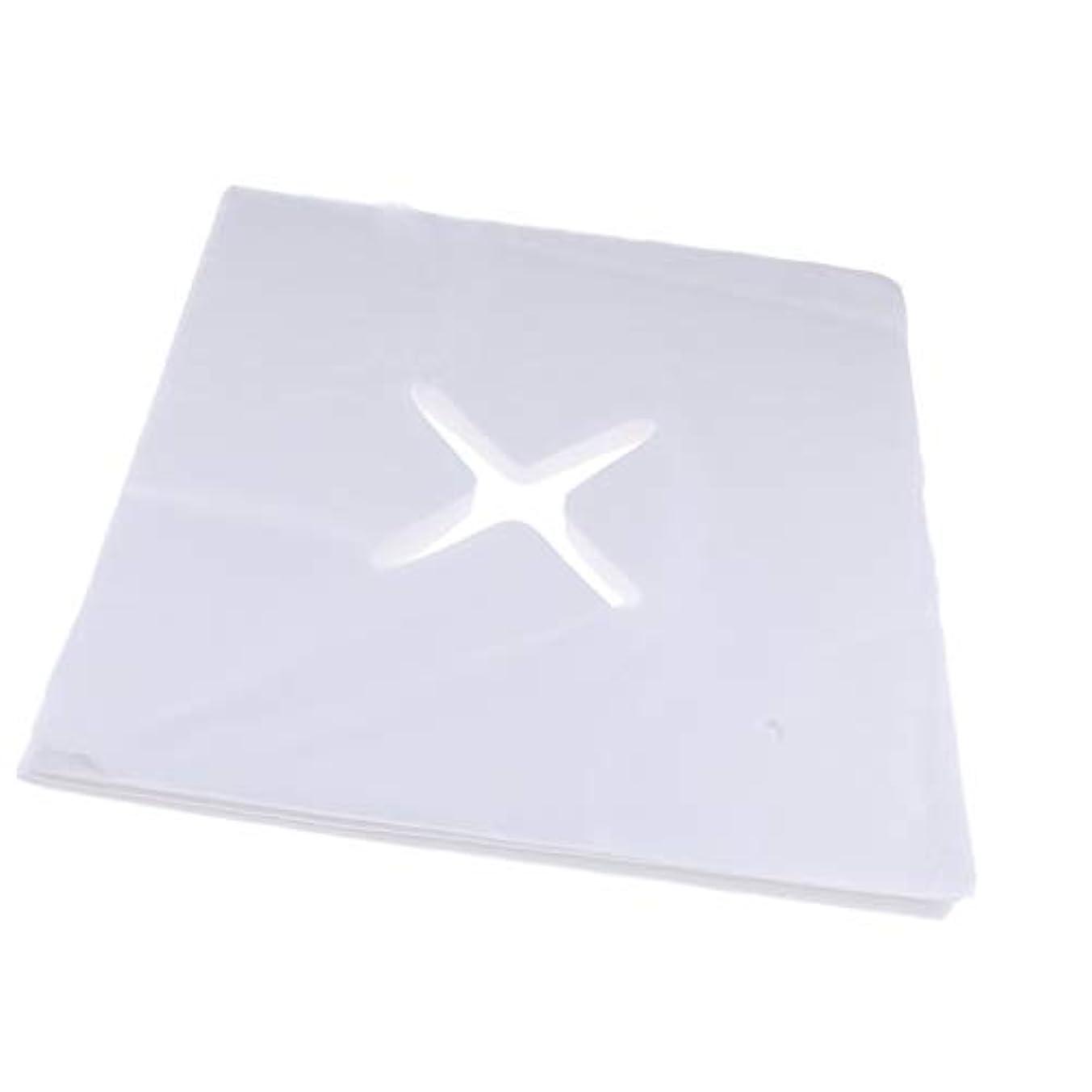 滅多パイロット服を片付けるPerfeclan 約200枚 ピローシート 十字カット 使い捨て フェイスカバー 不織布PP クッション S/M - L