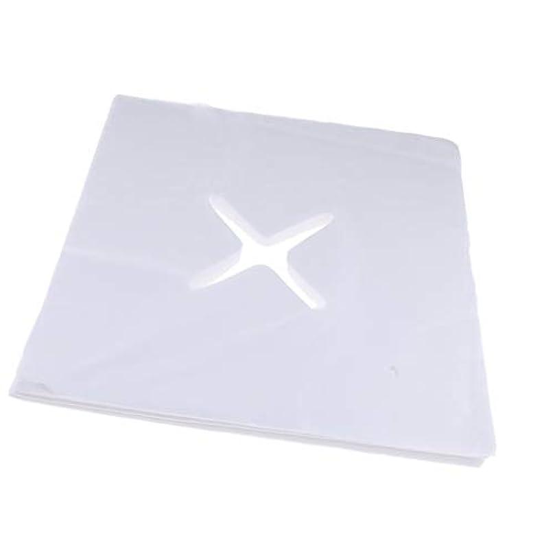 リスキーなゲスト交流する約200枚 十字カット 使い捨て ピローシート フェイスカバー 枕カバー クッション S/M - L