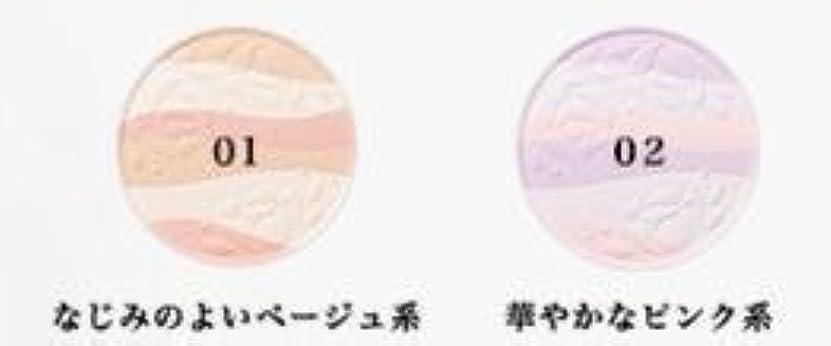 夕暮れジャグリングスタッフコーセー エスプリーク エクラ 明るさ持続 おしろい 02 リフィル(詰め替え用) 華やかなピンク系 ×1個