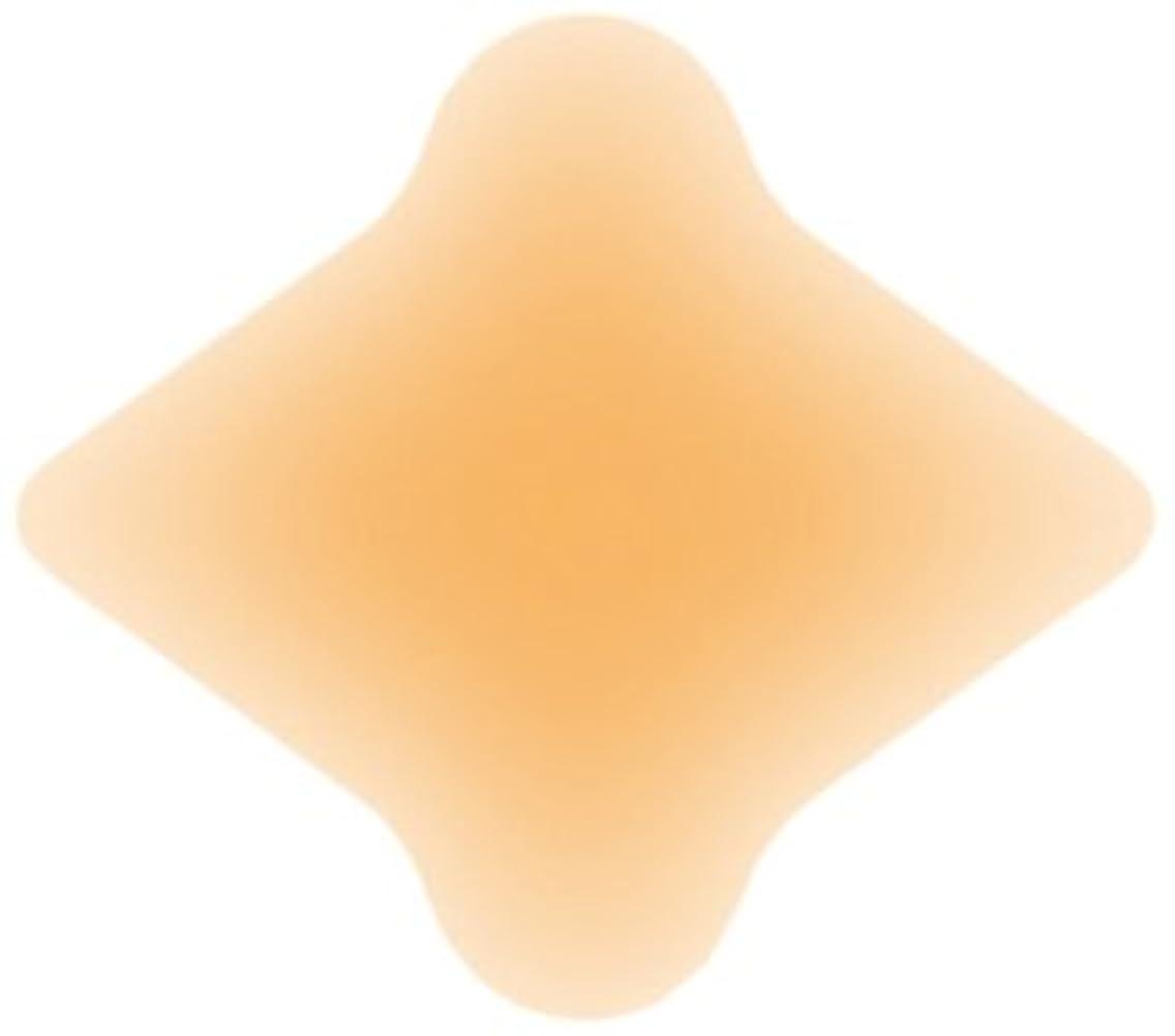 明るくする細分化するやさしくソルボクッションパッド 外反母趾用(4枚入)オークル