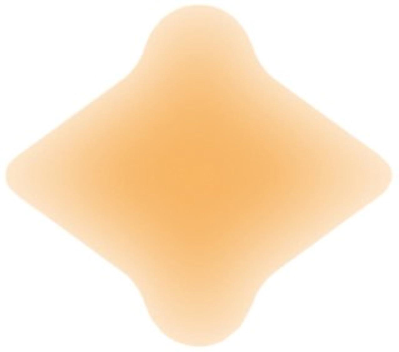 スナッチ突破口コンピューターを使用するソルボクッションパッド 外反母趾用(4枚入)オークル