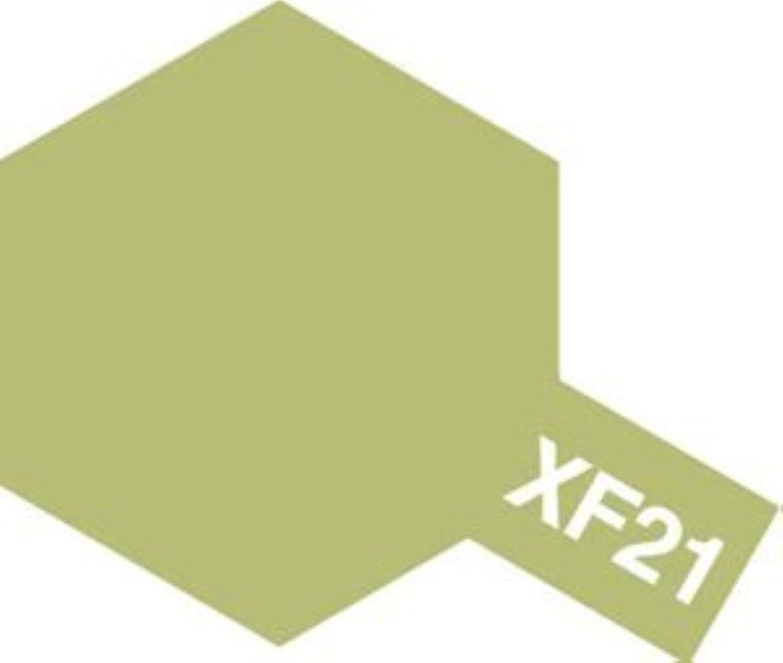 タミヤカラー アクリル塗料ミニ XF21 スカイ (つや消し FLAT)
