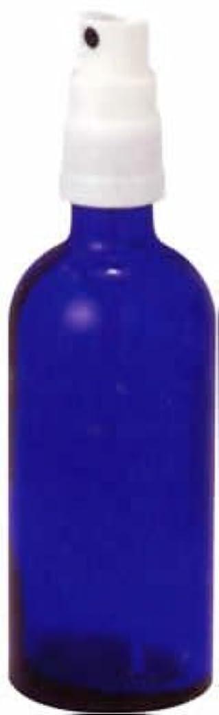 鹿地震著名な生活の木 青色ガラススプレー 100ml