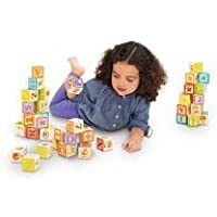 Imaginarium Wooden Alphabet Blocks - 40-Piece [並行輸入品]