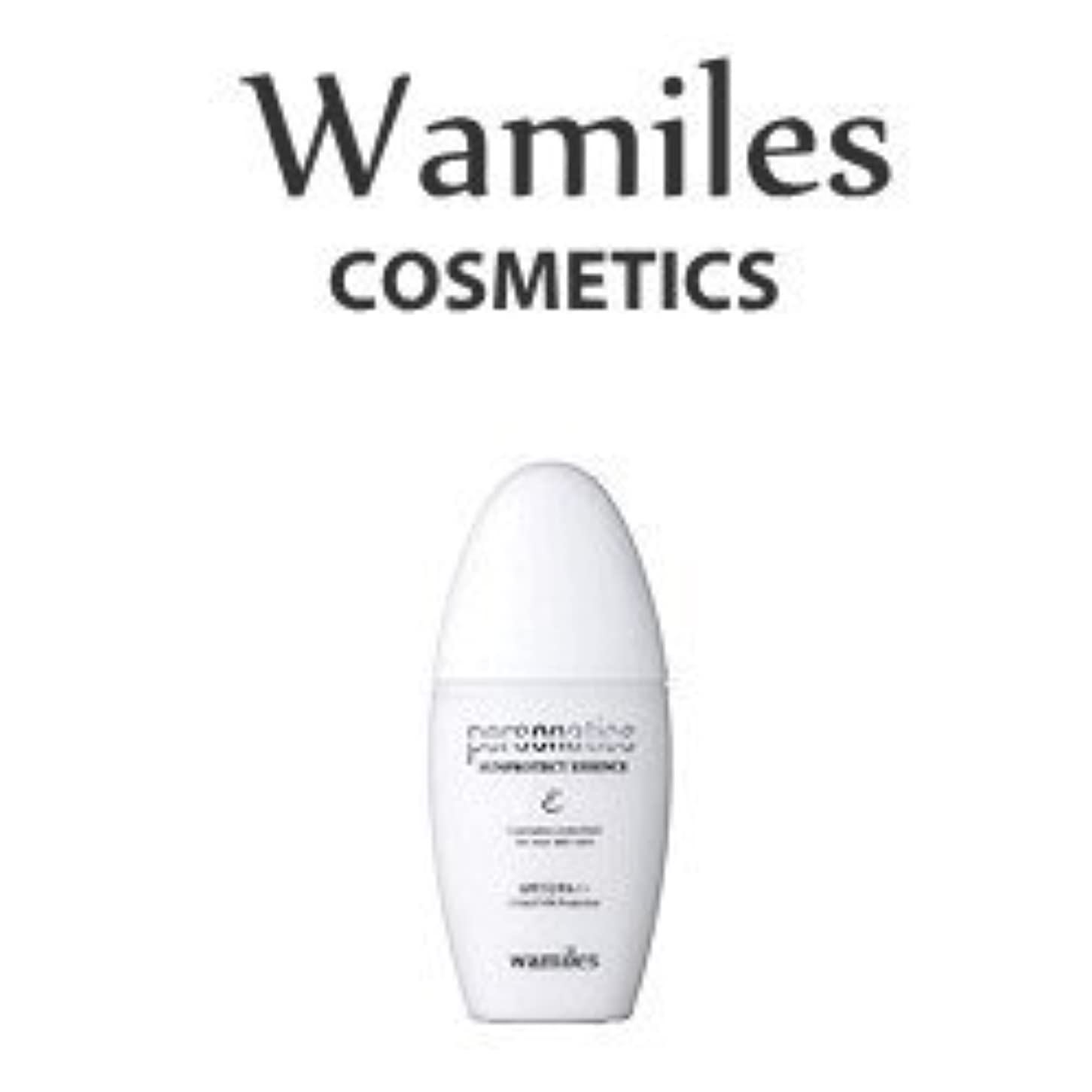 と気取らない身元wamiles/ワミレス サンプロテクトエッセンス 30ml 美容 化粧水