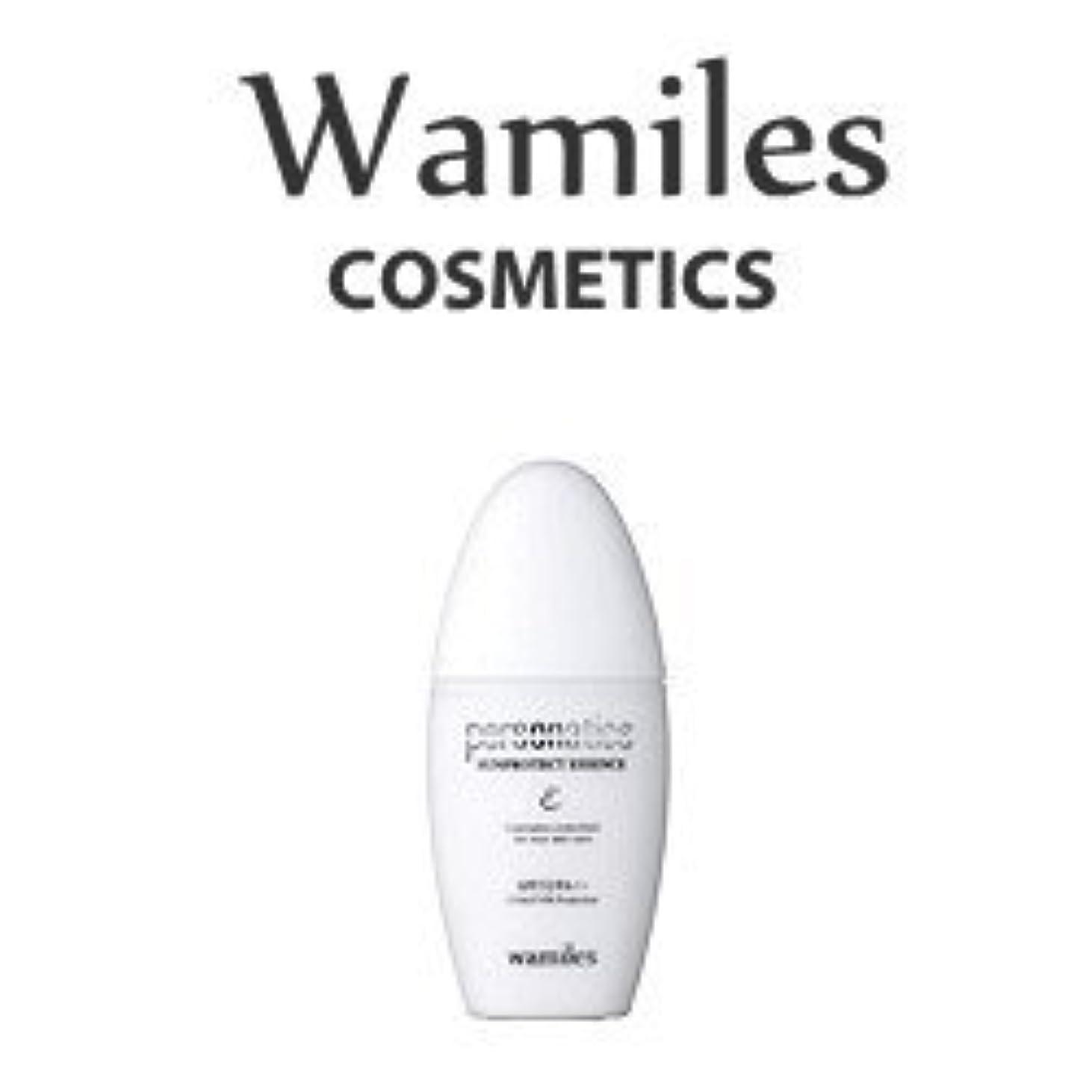 余分な郵便好意的wamiles/ワミレス サンプロテクトエッセンス 30ml 美容 化粧水