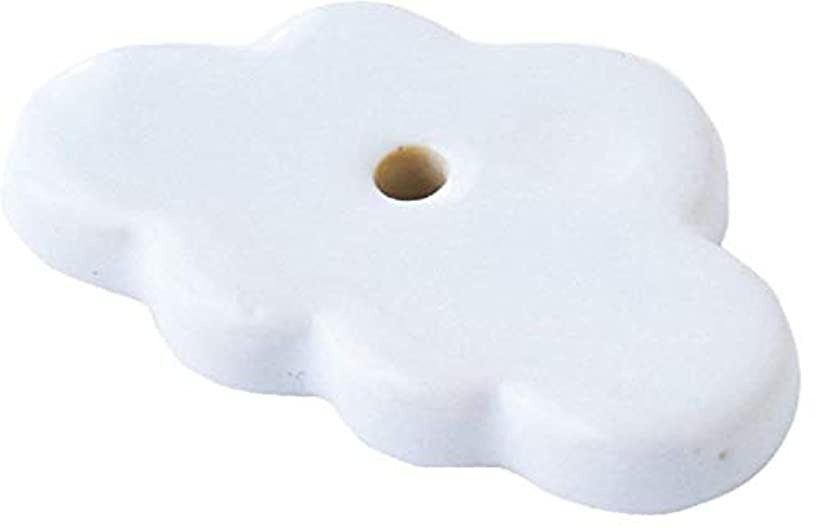 診療所カビ関税カメヤマキャンドルハウス 香台 雲 PE3320000W ホワイト 20個入り
