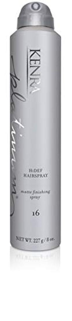 ズボン曲線チャートKenra HiDef Hairspray #16, 8-Ounce